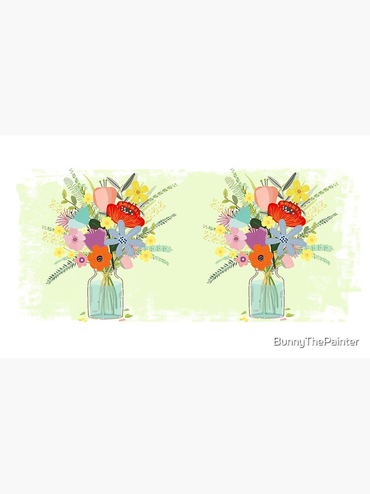 Bringing Summer Wildflowers Inside von BunnyThePainter