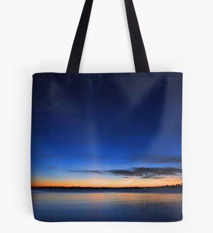 Crepuscular Rays - Como Jetty Western Australia  Tote Bag
