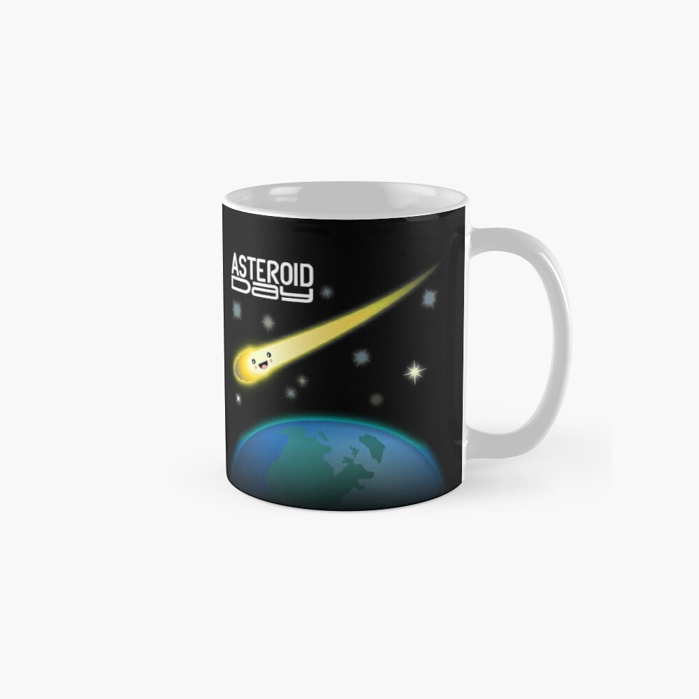 Asteroid Day Mugs