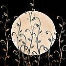 Nur der Mond von ©Janis Zroback