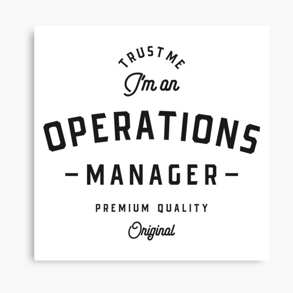 Operations Manager Canvas Print