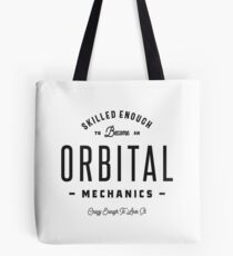 Orbital Mechanics Tote Bag