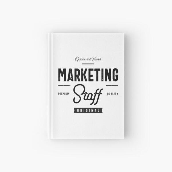 Marketing Staff Hardcover Journal