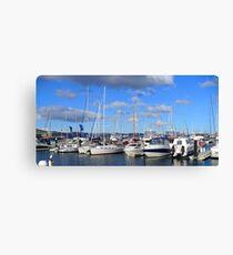 Hobart Yachts Canvas Print