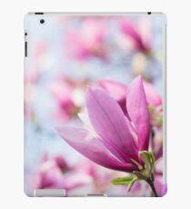Magenta Magnolia iPad Case/Skin