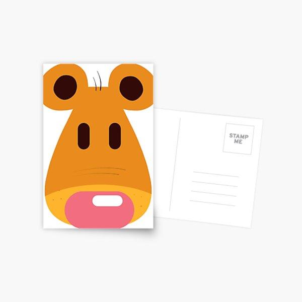 Hannah's Bear design Postcard