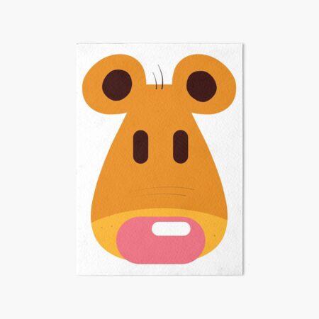 Hannah's Bear design Art Board Print