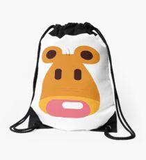 Hannah's Bear design Drawstring Bag