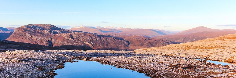 Panorama Over Kinlochewe by Jason Bonniface