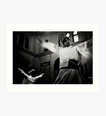Whirling Dervish dance Art Print