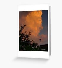 Clouds at Sunrise Greeting Card