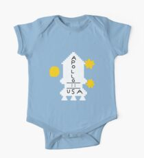 Apollo (The Shining) Short Sleeve Baby One-Piece