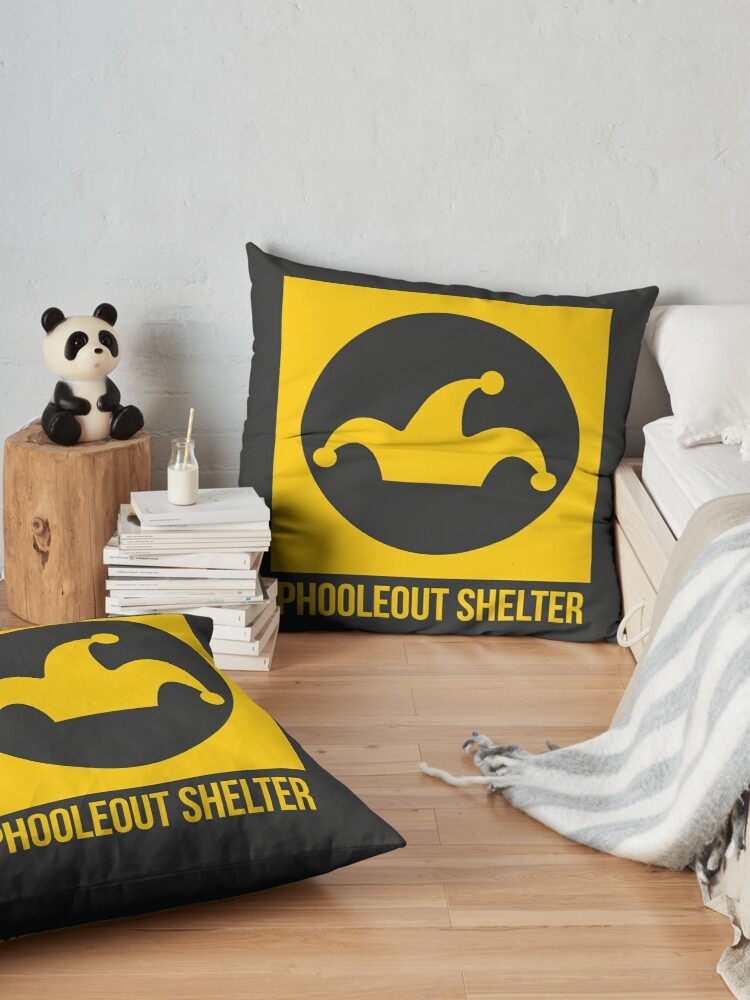 Alternate view of PhooleOut Shelter Sign by Anna Haim Floor Pillow