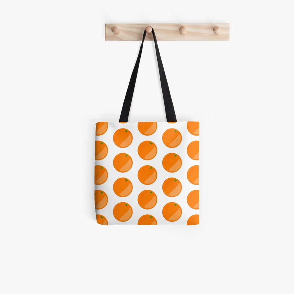 Orange Fruit Tote Bag