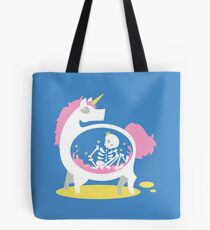 The Truth About Unicorns [Blue] Tote Bag