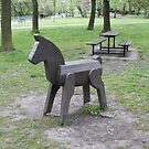 Wooden Horse by biddumy