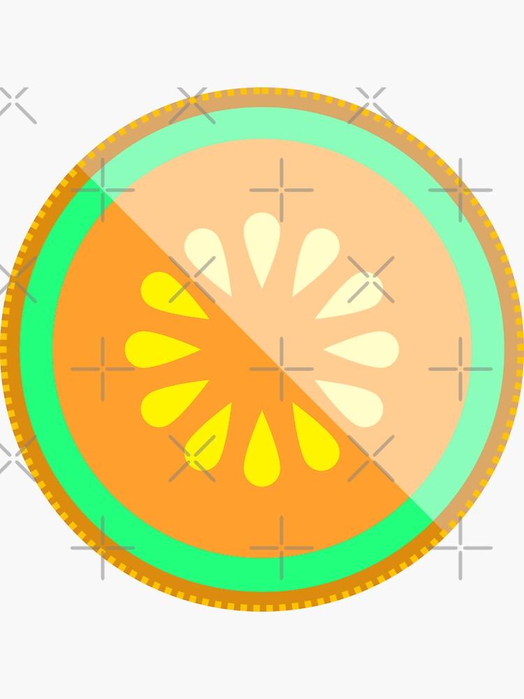 Cantaloupe Melon Halved by THPStock