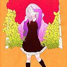 Girl in the garden by BumbleBeesh