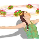 Surround Yourself With Indian Tacos by HaliReine