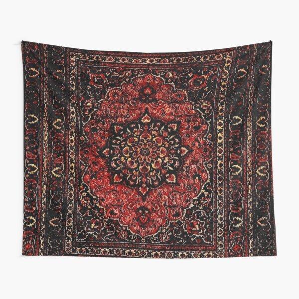 Persian carpet look in rose  Tapestry