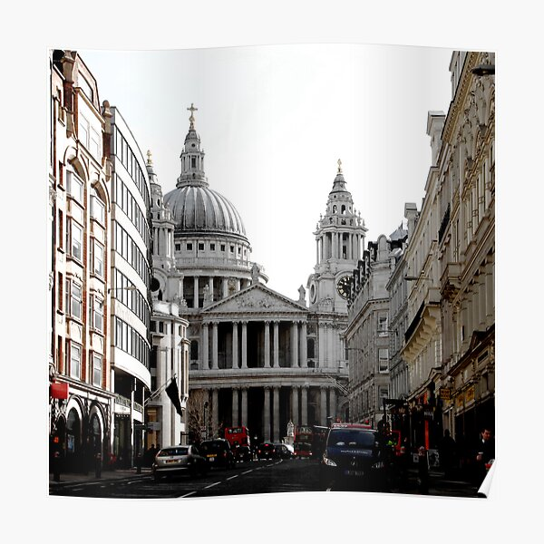 St. Pauls Cathedral Poster