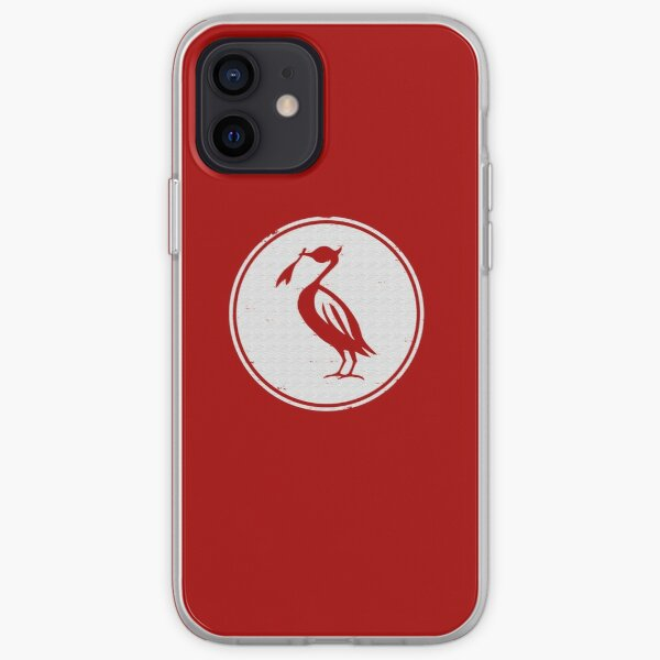 Retro Liverbird iPhone Soft Case