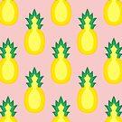 Pineapple Fruit Halved by THPStock