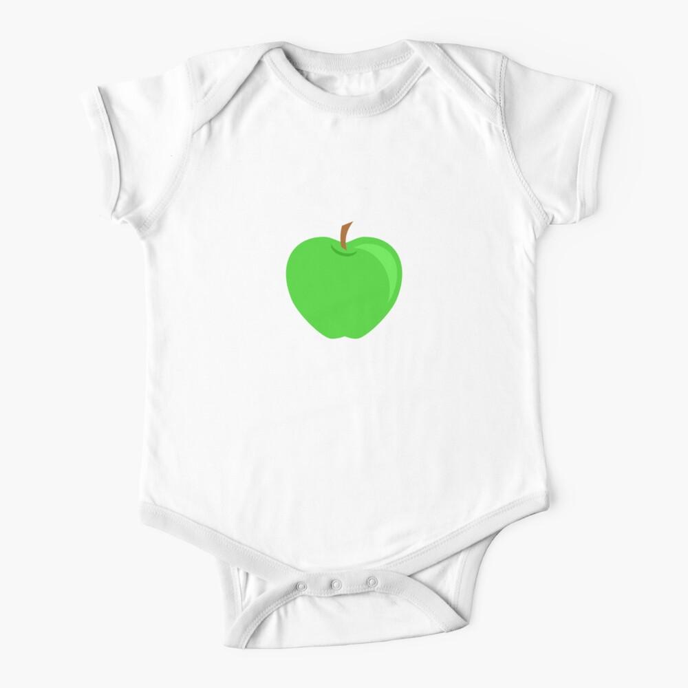 Green Apple Fruit Baby One-Piece
