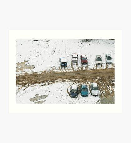 Carpark Art Print
