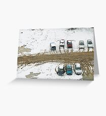 Carpark Greeting Card
