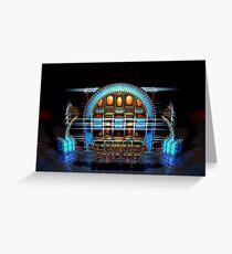 Steampunk Jukebox Greeting Card