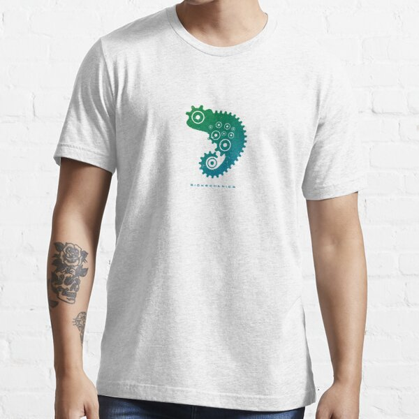 Chameleon - Biomechanics blue/green Essential T-Shirt