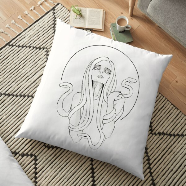 Medusa Floor Pillow