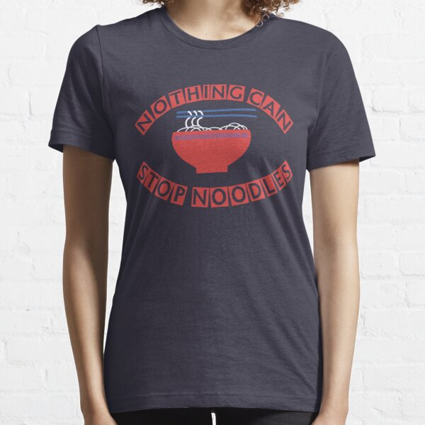 "James May: ""Nothing Can Stop Noodles"" Japanese Tour Shirt Essential T-Shirt"