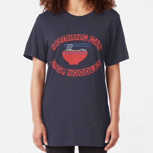 "James May: ""Nothing Can Stop Noodles"" Japanese Tour Shirt Slim Fit T-Shirt"