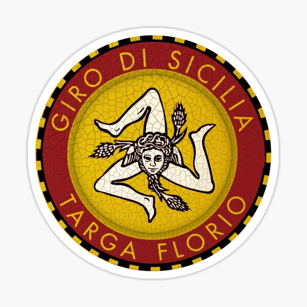 Targa Florio Vintage Car Race Sticker