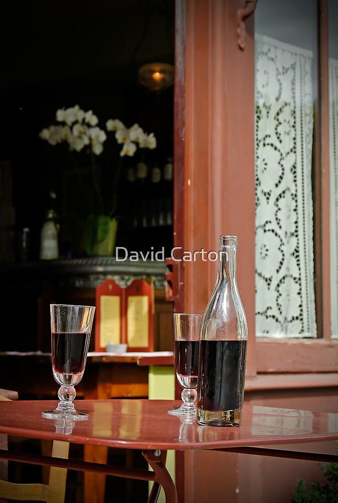 Vincent's table?  Auberge Ravoux, France by David Carton