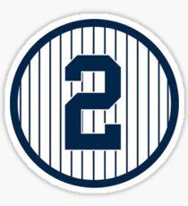 Derek Jeter - New York - #2 Sticker