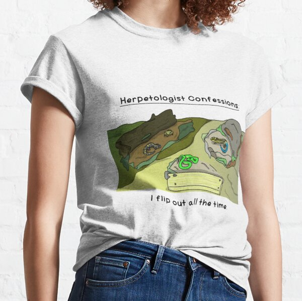 Herpetologist confessions Classic T-Shirt