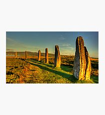 Stones (Ring of Brodgar) Photographic Print