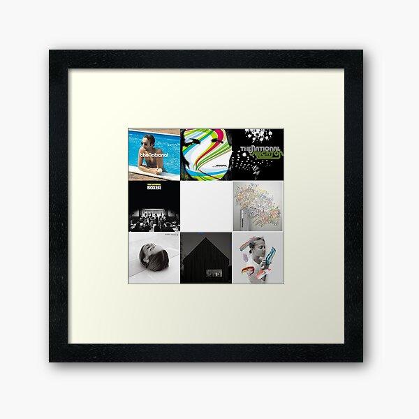 The National - All Albums Framed Art Print