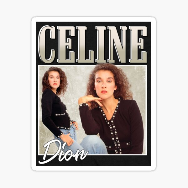 Céline Dion Sticker