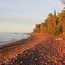 Red Rocks of Lake Superior by Karen K Smith