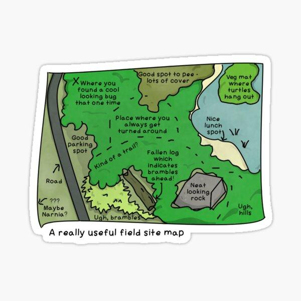 Site Map Sticker