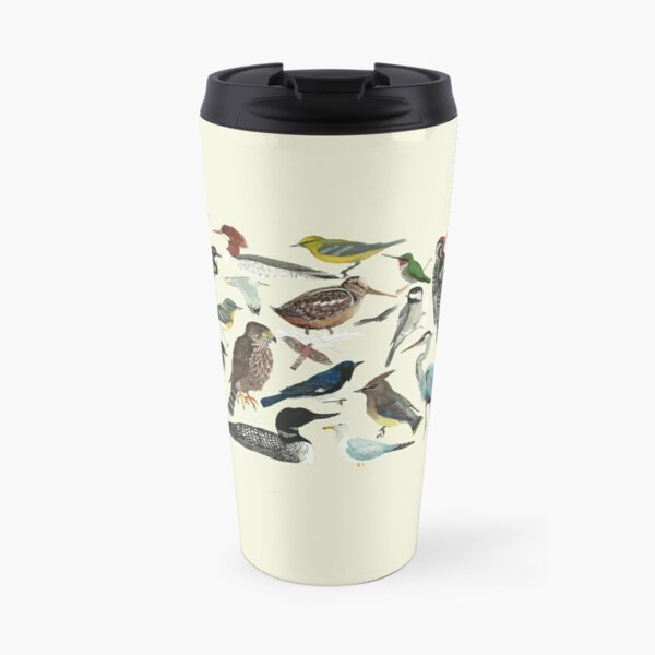 Bird Fanatic Travel Mug