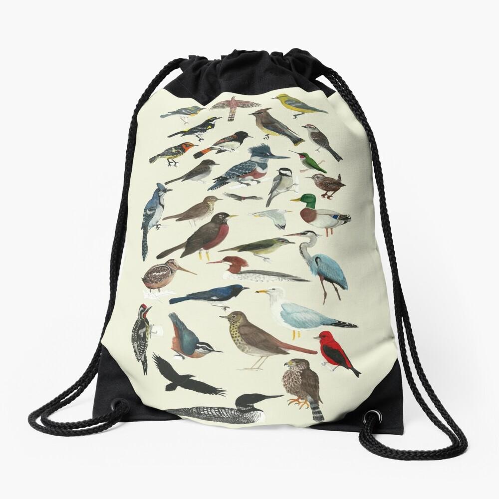 Bird Fanatic Drawstring Bag