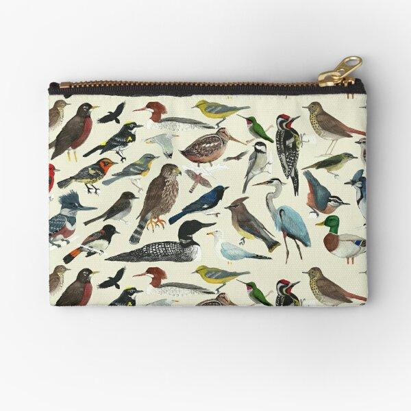 Bird Fanatic Zipper Pouch