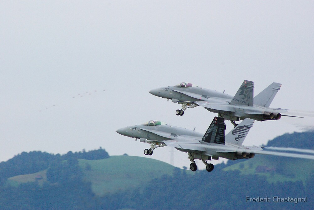 F/A 18 Hornet by Frederic Chastagnol