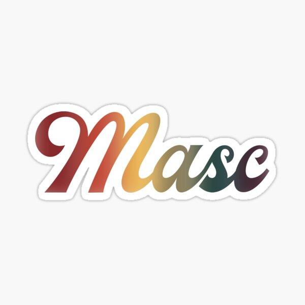 Label Me Masc Sticker