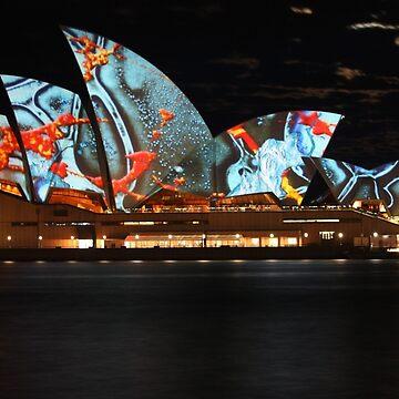Vivid Festival, Sydney Opera House by martynbaker52
